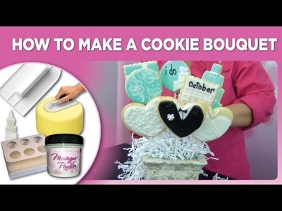 How To Make A Cookie Bouquet by www.SweetWise.com