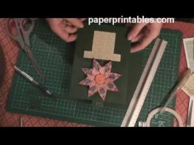 How to make a growing flower pot card tutorial