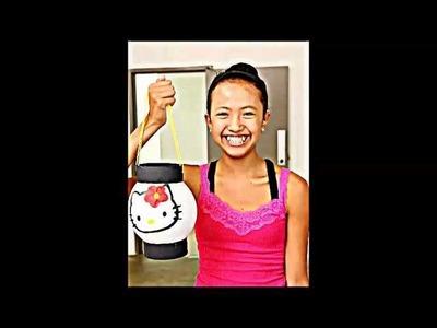 How to Make a Japanese Lantern (Chochin)