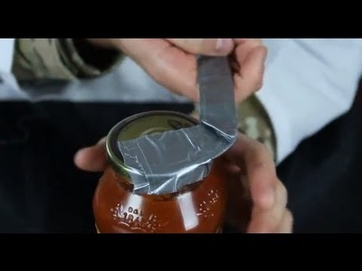 How to Open a Jar with Duct Tape!?