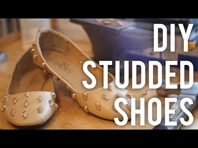 How to Studded Shoe : DIY