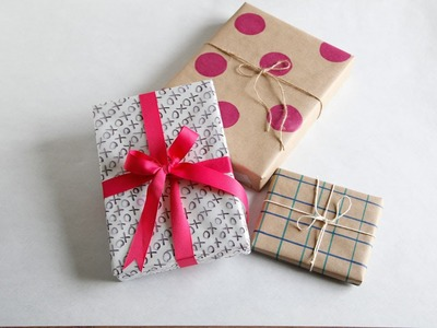 How to Wrap a Gift Without Gift Wrap