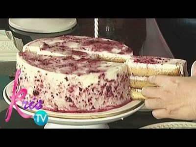 Kris TV: Proper way to slice a cake