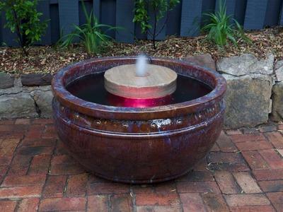 Make a pond in a pot