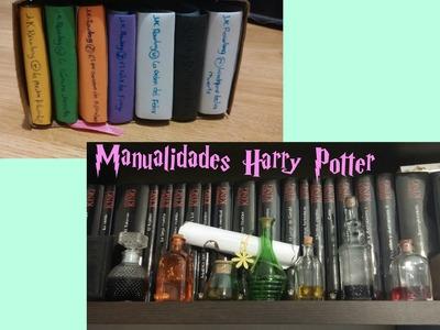 Manualidades Harry Potter: Box set y pociones.Te deseo un libro
