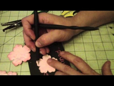 Mother Day Bouquet flower tutorial (Cabbage Rose)