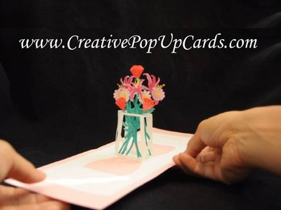 Mother's Day Pop Up Card: Flower Bouquet