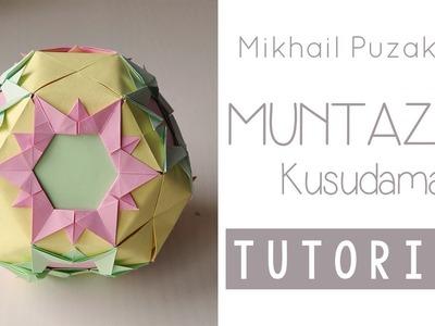 Origami Muntazar Kusudama Tutorial