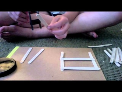 Popsicle Stick Breyr Fencing- How To!
