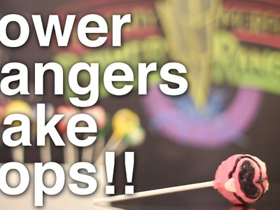 Power Rangers POP ROCKS Cake Pops!!