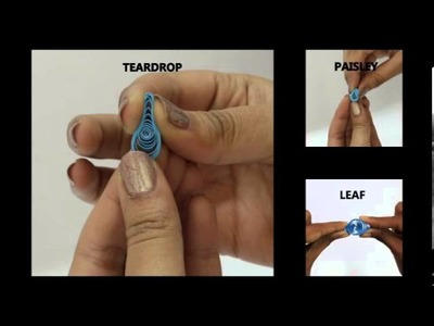 Quilling Basics- How To Shape A Loose Coil