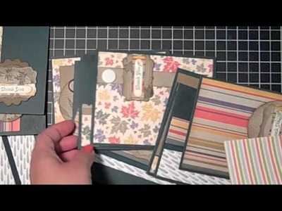 Stampin' Up! Tutorial Card Making 101-Time Savers and Masculine Cards
