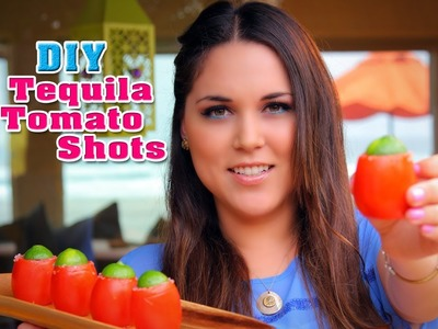 Tequila Tomato Shots - Fun DIY's with Karla (English)