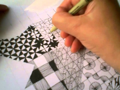 Zentangle Pattern Samplers 1 | For Beginners - Part 2