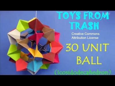 30 Unit Ball | Bhojpuri | Modular Origami