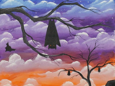 Awaken at Dusk Reboot Step by Step Acrylic Painting on Canvas for Beginners