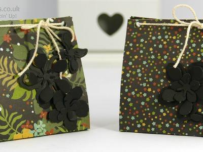 Botanical Gardens Paper Bag Tutorial