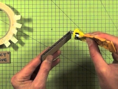 Card Modelling Basics (pt6) - Using adhesives with cardboard - with Jude Pullen