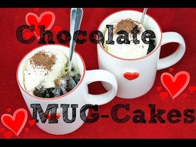 Chocolate MUG CAKE Recipe! Make 5 min Microwave Chocolate CUP-Cake for TWO!