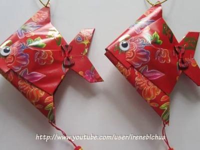 CNY TUTORIAL NO. 41 -  Making the hongbao fish tail