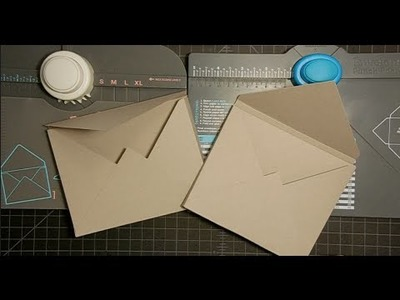 Dimensional Envelopes made with both WRMK Envelope Punch Boards