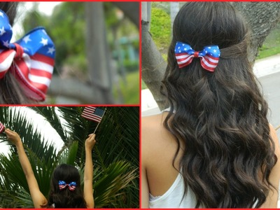 DIY: 4th of July Bow!