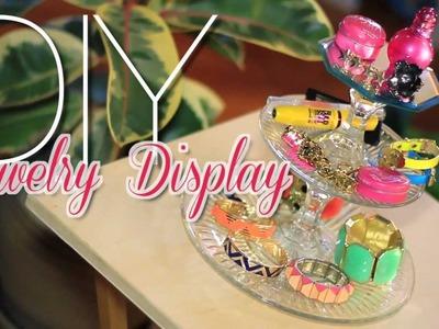 DIY Jewelry Display Stand