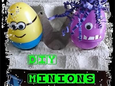 DIY Minion Easter Eggs