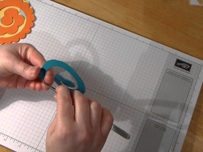 How to create a different flower using the Spiral Flower Die - Day 4 of 7