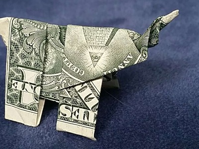 How To Fold A Dollar Bill Elephant - DIY Crafts Tutorial - Guidecentral
