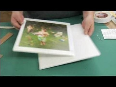 How to Frame Color Photos : How to Matte a Picture
