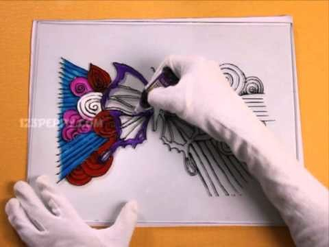 How to Make a Butterfly Glass Painting