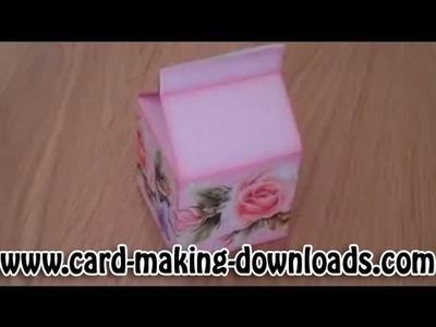 How To Make A Milk Carton