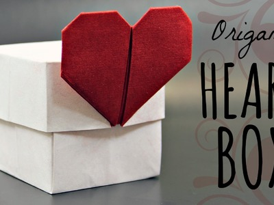 How to make an origami Heart Box (Tadashi Mori)