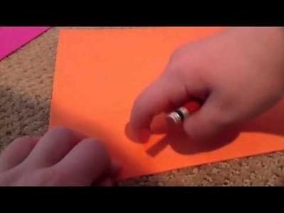 How to make doll paper.cardboard.foam