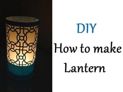 How to make OHP Sheet Lantern