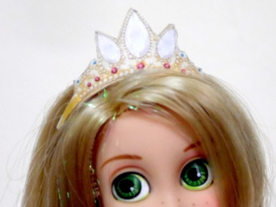 How to Make Rapunzel's Doll Crown | Tangled