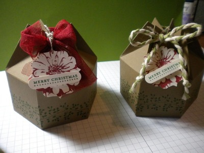 Milk Carton Gift Box