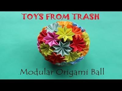 Modular Origami Ball | English