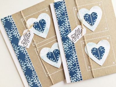 SAF 2015: Stitching With Stamps 2 with Heather Nichols