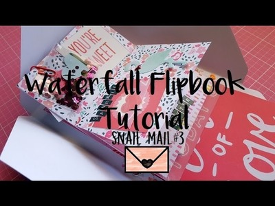 Snail Mail.Penpal Flip Book Tutorial #3. Waterfall style