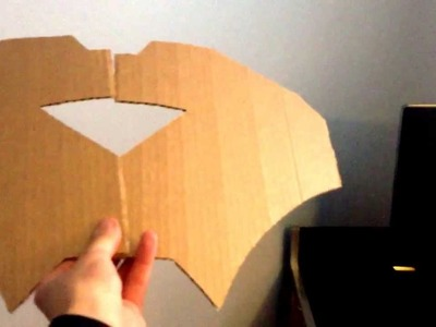 TheJegeBuilds: Iron Man Mark 6 Chestplate using Cardboard! Part 1