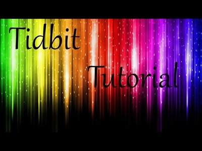 Tidbit Tutorial - 5x7 Faux Envelope with Cardstock