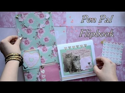 Valentine Pen Pal Flipbook Tutorial