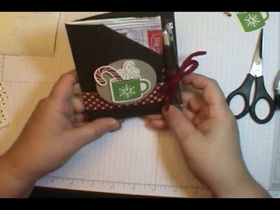 10 Min Tuesday Video: Easy Cocoa Packet Holder!