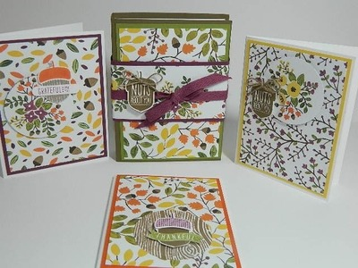 Card Holder Using Stampin' UP! Products