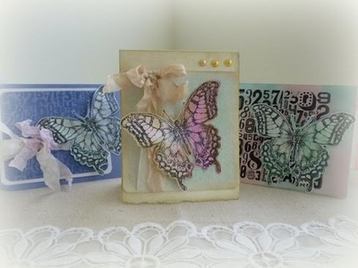 Cardmaking with Tim Holtz Perspectives Stamps