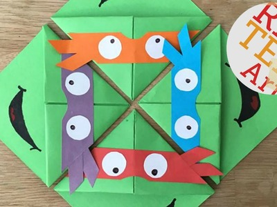 Easy TMNT Bookmark Corners DIY (BONUS VIDEO)