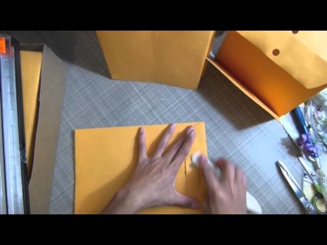 Envelope monthly organizer part 1