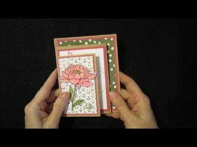 Four Panel Z Fold Card